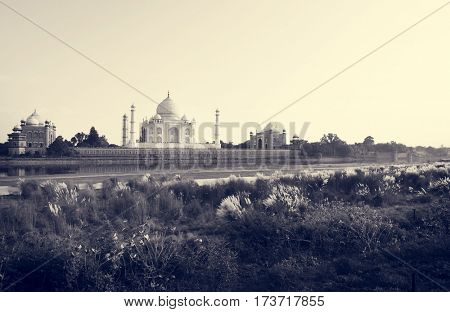 Taj Mahal Ancient Alley Agra Mughal Temple