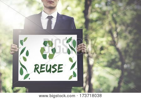 Relax Responsibility Growth Reuse Icon