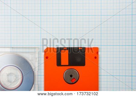 Floppy Disks And Mini-cd