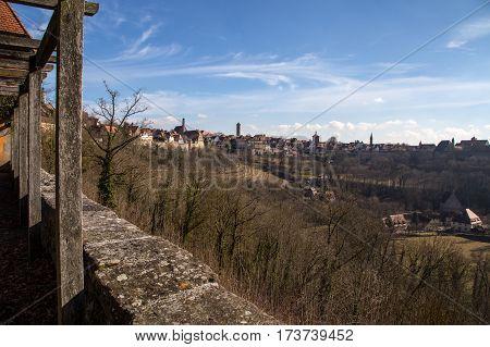 Rothenburg ob der Tauber / City fragments