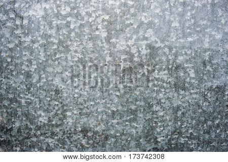 Zinc Galvanized Steel Surface
