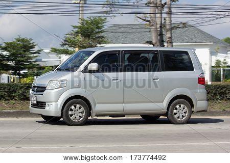 Private Car, Mini Van Of Suzuki Apv.