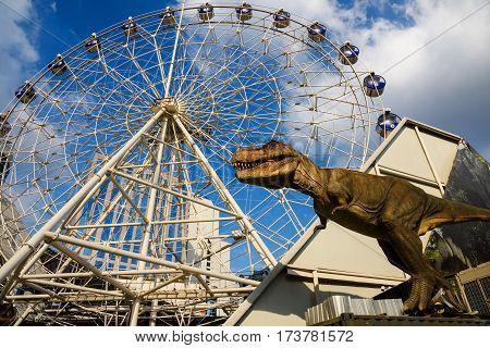 T Rex At Dinosaur Planet, Bangkok
