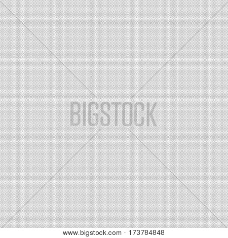 Abstract seamless pattern. Pixel backdrop for the site. Light grey woven ribbon on a white background.