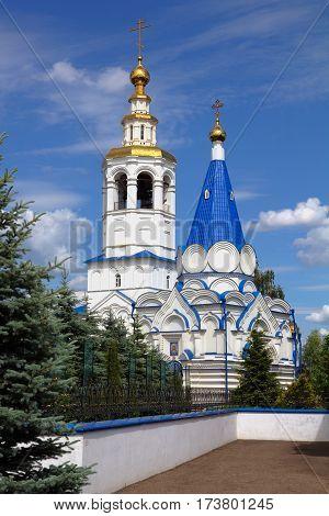 Zilant monastery in Kazan Republic of Tatarstan Russia