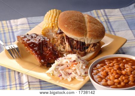 Pulled Pork Sandwich