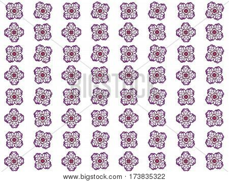 Texture With Rendering Abstract Fractal Maroon Pattern