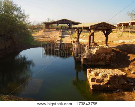 Jesus Baptism Site At Bethany Beyond The Jordan