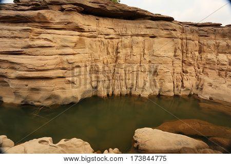 Landscapes  Had chom dao  National Park.The border between Thailand and Laos,natan   Ubon Ratchathani,northeast,asia