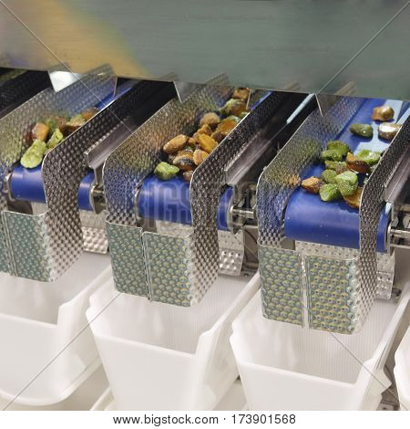 The image of a food separated machine