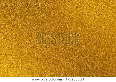 Gold color glitter texture abstract luxury background