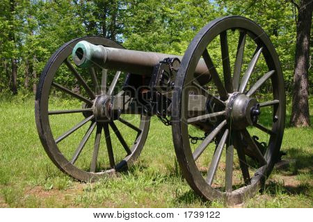 Civil War Cannon At Pulaski Arkansas Battery