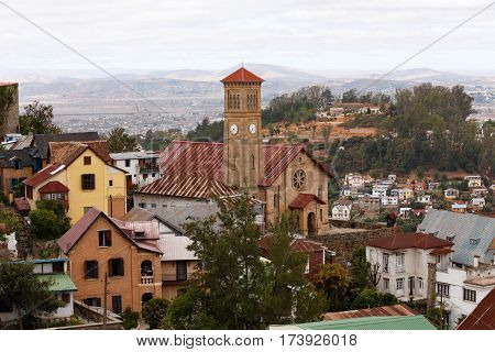 Central Antananarivo, Tana, Capital Of Madagascar