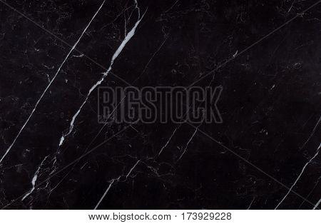 Natural Spanish Nero Marquina Black Marble Texture