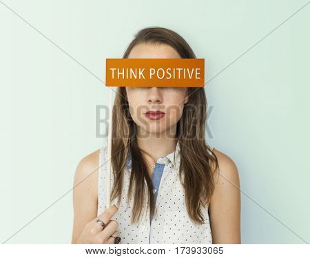 Think Positive Optimism Word Concept