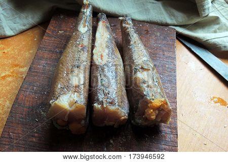 Frozen Sea Fish