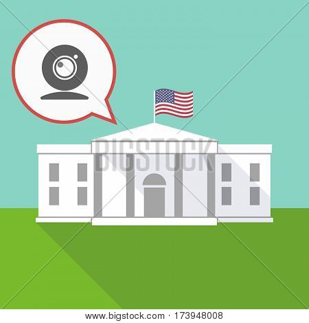 The White House With A Web Cam