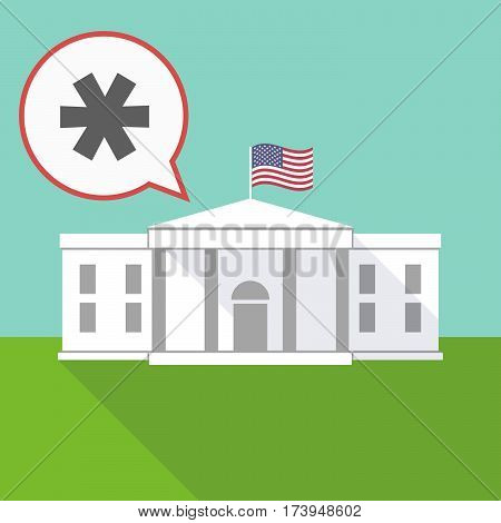 The White House With An Asterisk