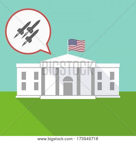 The White House With Missiles