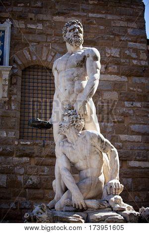 Statue Of Neptune In Italy