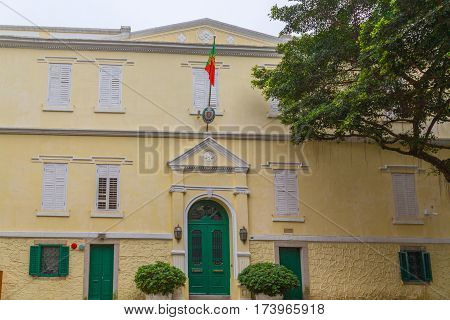 Portuguese Consulate in Macau China picture detail