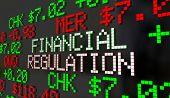 Financial Regulation Government Control Oversight Stock Market 3d Illustration poster