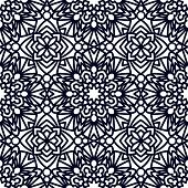 Square Pattern panel for laser cutting with mandalas. Kirigami filigree pattern frame. For wedding invitation, envelope, baby shower, postcards. Suitable for printing, engraving, metal, wood. poster