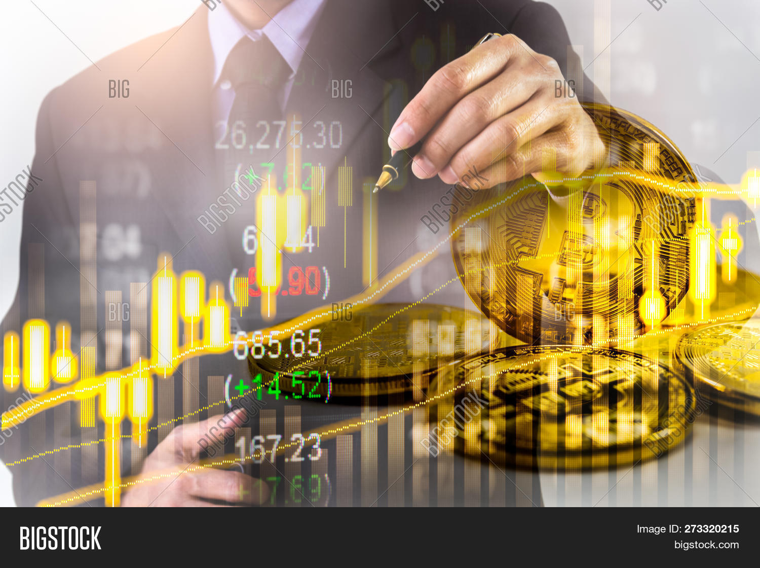 Bitcoin Business  Image & Photo (Free Trial) | Bigstock