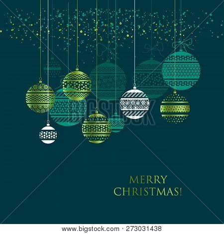 Christmas Green Color.Merry Christmas Color Vector Photo Free Trial Bigstock