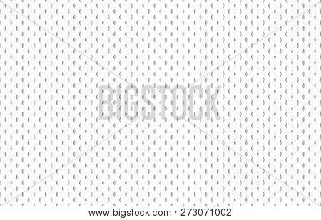 Athletic Fabric Texture. Football Shirt Cloth, Textured Sport Fabrics Or Sports Textile Seamless Vec