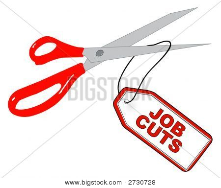 Scissors Cutting Job Cut