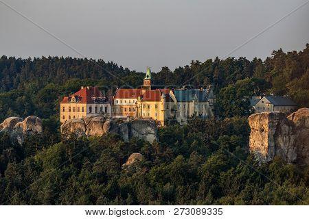 Hruba Skala Chateau Near Turnov In Bohemian Paradise