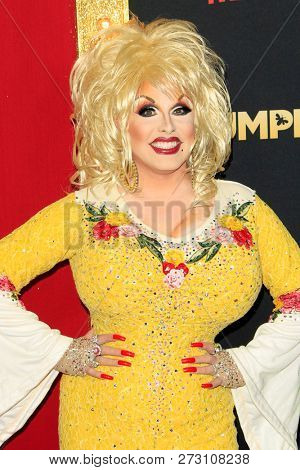LOS ANGELES - DEC 6:  Jason Cosmo, Dolly Parton Drag Queen at the