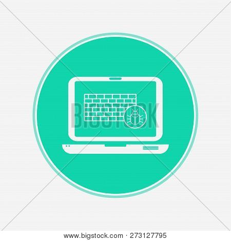 Firewall icon vector, filled flat sign, solid pictogram isolated on white. Symbol, logo illustration. poster