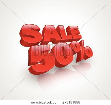 Sale Banner Vector Illustration For Promotion Advertising
