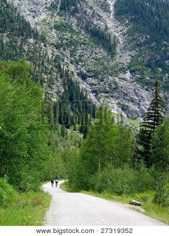Colorado Rocky Mountain Bike Path
