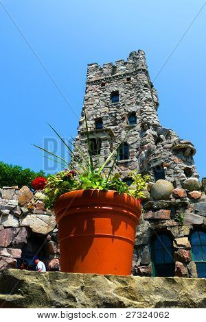 Potted Plant at Alster Tower Playhouse