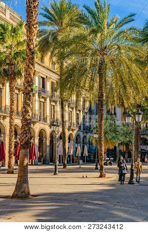 Medinaceli Duke Square, Barcelona, Spain