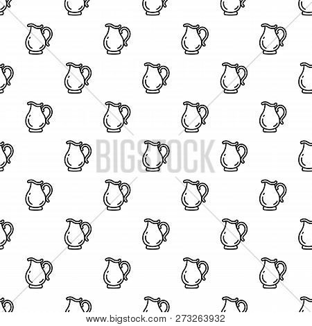Jug Pattern Seamless Vector Repeat For Any Web Design