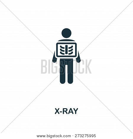 X-ray Icon. Premium Style Design From Healthcare Icon Collection. Pixel Perfect X-ray Icon For Web D