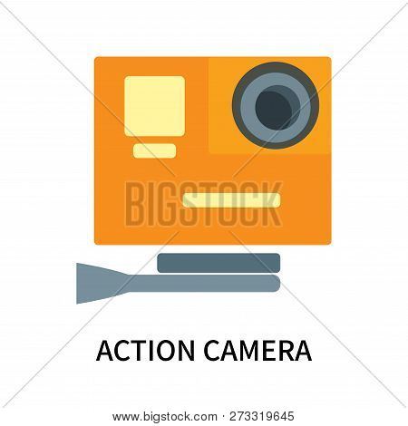 Action Camera Icon Isolated On White Background. Action Camera Icon Simple Sign. Action Camera Icon
