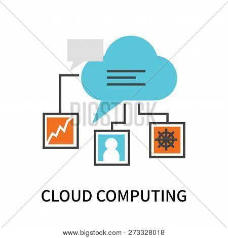Cloud Computing Icon Vector & Photo (Free Trial) | Bigstock