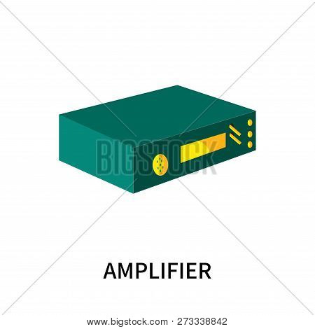 Amplifier Icon Isolated On White Background. Amplifier Icon Simple Sign. Amplifier Icon Trendy And M