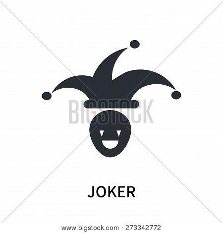Joker Icon Isolated On White Background. Joker Icon Simple Sign. Joker Icon Trendy And Modern Symbol