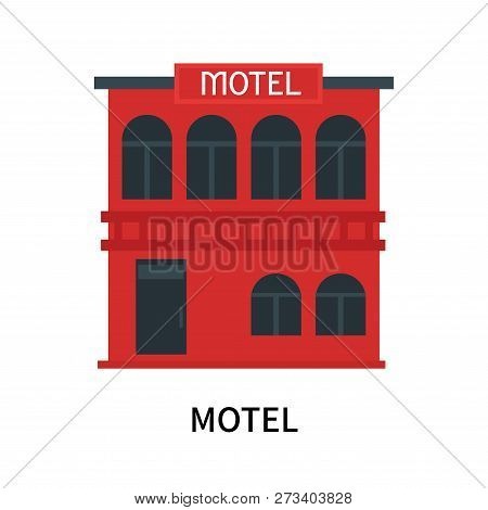 Motel Icon Isolated On White Background. Motel Icon Simple Sign. Motel Icon Trendy And Modern Symbol