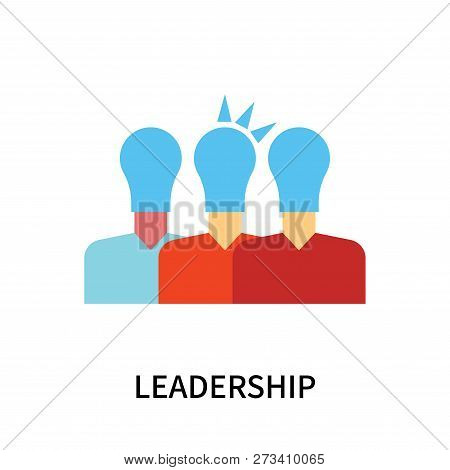 Leadership Icon Isolated On White Background. Leadership Icon Simple Sign. Leadership Icon Trendy An