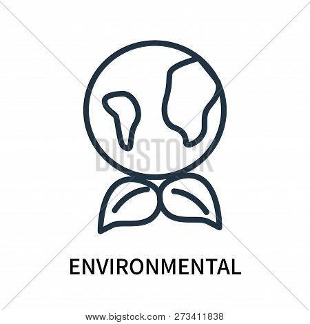 Environmental Icon Isolated On White Background. Environmental Icon Simple Sign. Environmental Icon