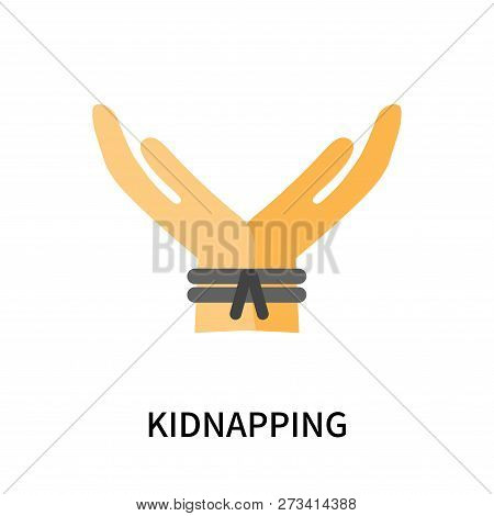 Kidnapping Icon Isolated On White Background. Kidnapping Icon Simple Sign. Kidnapping Icon Trendy An