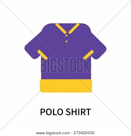 Polo Shirt Icon Isolated On White Background. Polo Shirt Icon Simple Sign. Polo Shirt Icon Trendy An