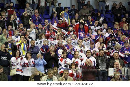 Britain Ice-hockey Fans